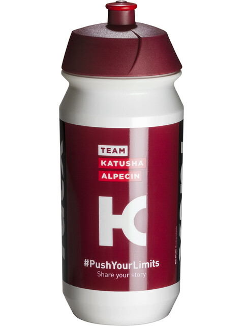 Tacx Shiva Bio Vannflaske 500ml Team Katusha rød/Hvit